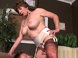 Lusty Grandma Fucked In The Asshole lusty grandma fucked