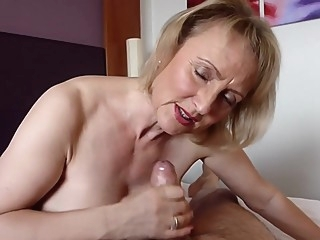 With age, cums experience. cums experience