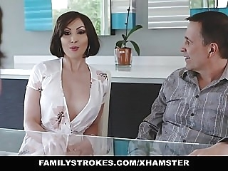 FamilyStrokes- Kinky Aunt Fucks Step-Nephew amateur hardcore top rated