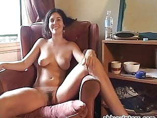 Daniela amateur brunette hairy