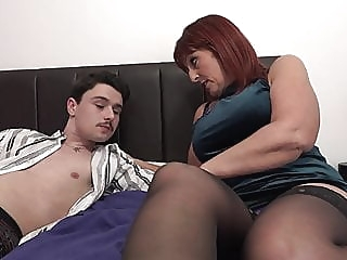 Son get a visit from step mother amateur blowjob mature